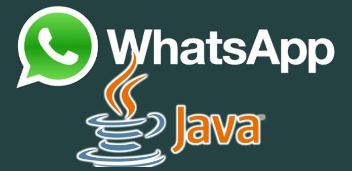 Como instalar whatsapp em celular java touchscreen