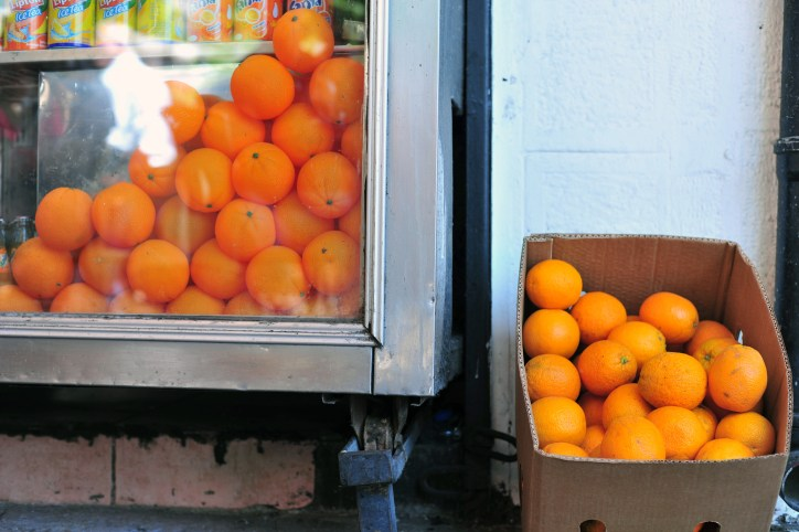 Fake oranges, real oranges