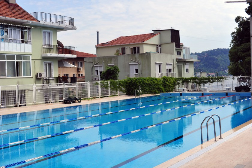 Bosphorus University pool