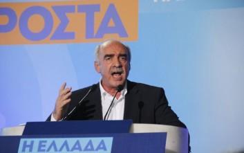 Μεϊμαράκης: Κυβέρνηση συνεργασίας και για πρωθυπουργό... βλέπουμε