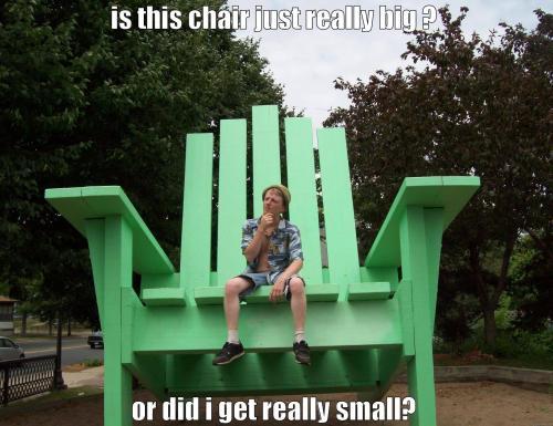 Medium Of Really Big Chairs