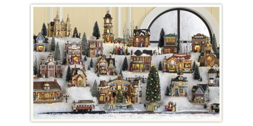 Medium Of Christmas Village Houses