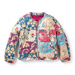 Tea Collection Patchwork Kantha Jacket