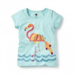 Tea Collection Marala Flamingo Graphic Tee