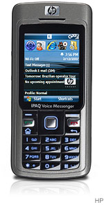 The H-P iPAQ 510 Voice Messenger from Hewlett-Packard.