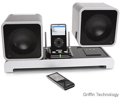 Griffin Technology's $299.99 Evolve is an affordable wireless speaker system.