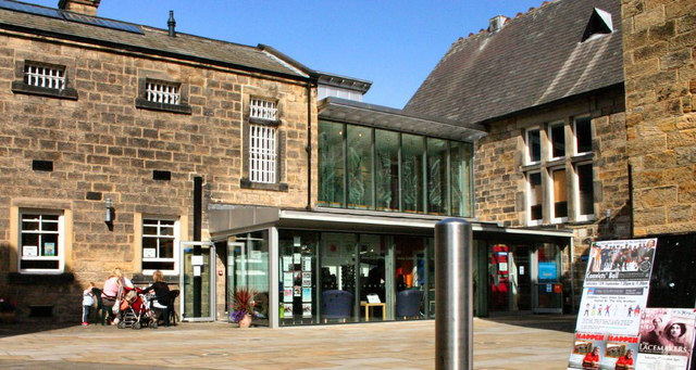 Otley Courthouse on a sunny day