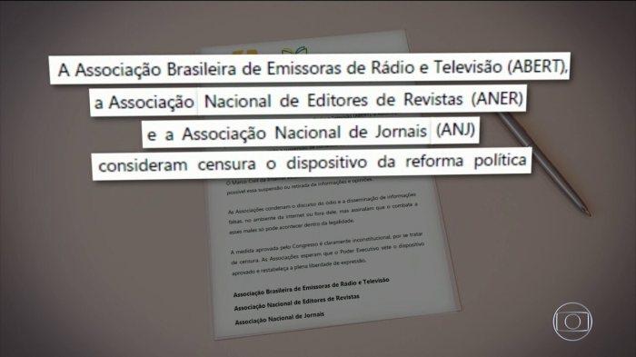 Reforma política aprova censura da internet sem autorização da Justiça