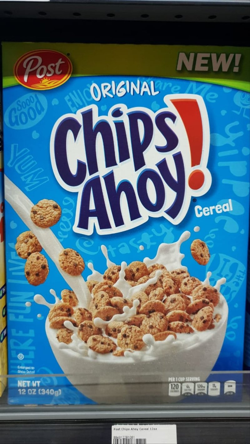 Large Of Chips Ahoy Cereal