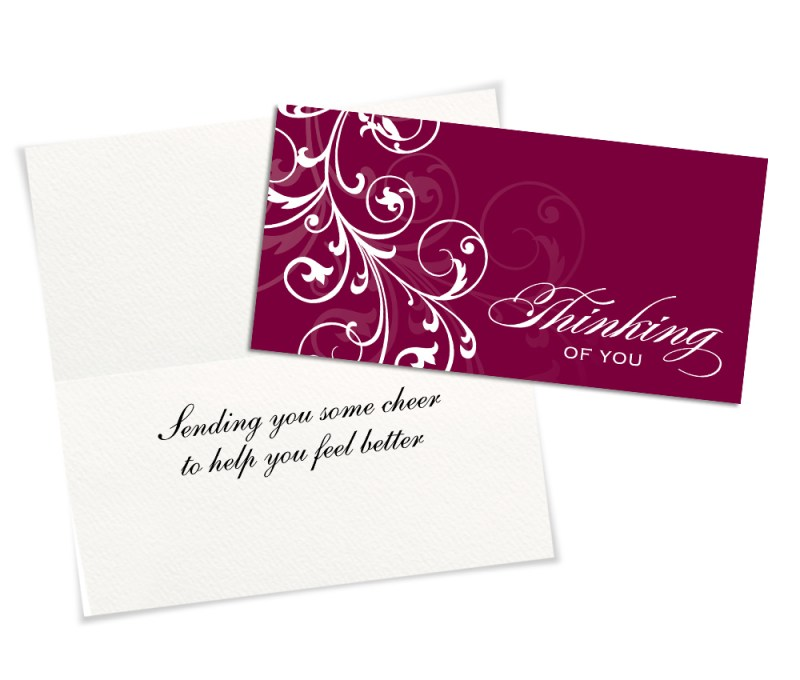 Large Of Thinking Of You Cards
