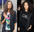 Thandie Newton decided to keep it curly and chemical free to set an example for her children.