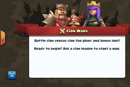 clash clans clan war released
