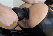 long anal dildo