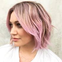 Hillary Duff's Pink Look