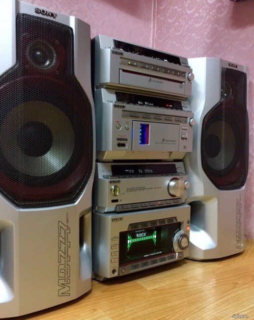 Dàn SONY MD777 made in JaPan 5CD 5MD - 4