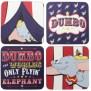 Dumbo Untersetzer Set
