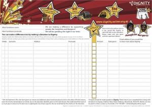 Big Tent Night 2015 Donation Sheet