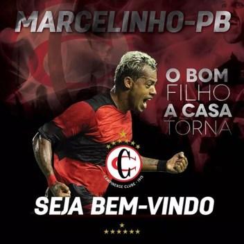 Marcelinho Paraíba, Campinense (Foto: Divulgação / Campinense)