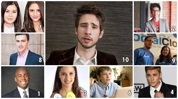 Saiba quem são os 10 jovens que ficaram milionários antes dos 20 anos