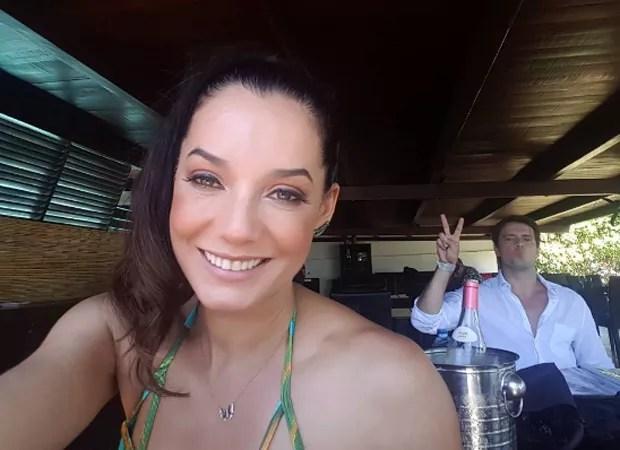 Mônica Carvalho e o marido, Alaor Jr. (Foto: Reprodução/Instagram)