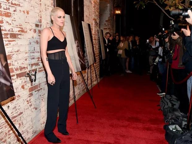 Kristen Stewart em première em Los Angeles, nos Estados Unidos (Foto: Alberto E. Rodriguez/ Getty Images/ AFP)