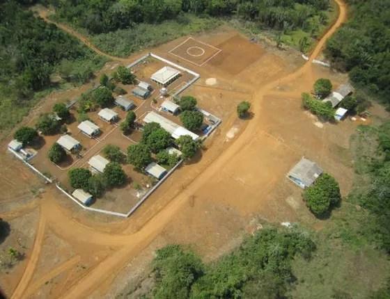 Alojamento da mineradora canadense Belo Sun no Pará (Foto: Reprodução)