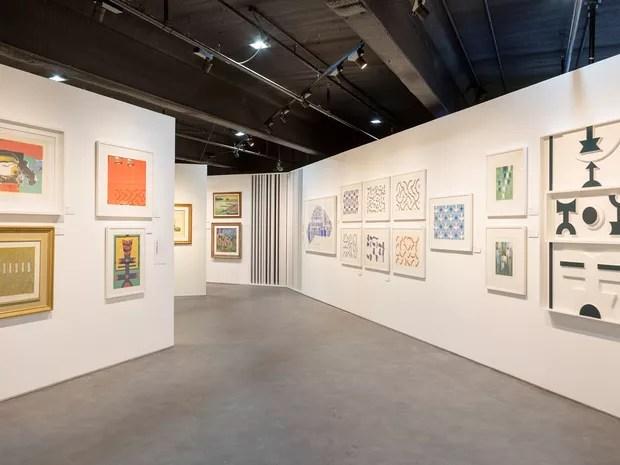 Acervo em exposição no Museu Banco do Brasil, em Brasília (Foto: Joana França/Divulgação Expomus)