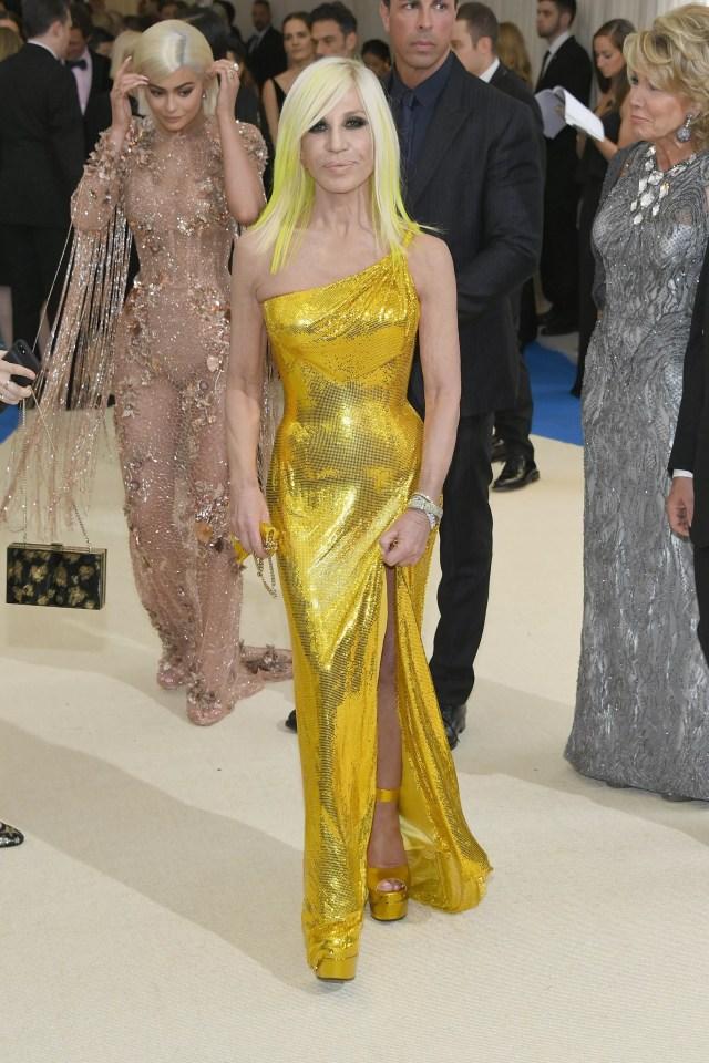 Donatella versace (Foto: Getty Images)