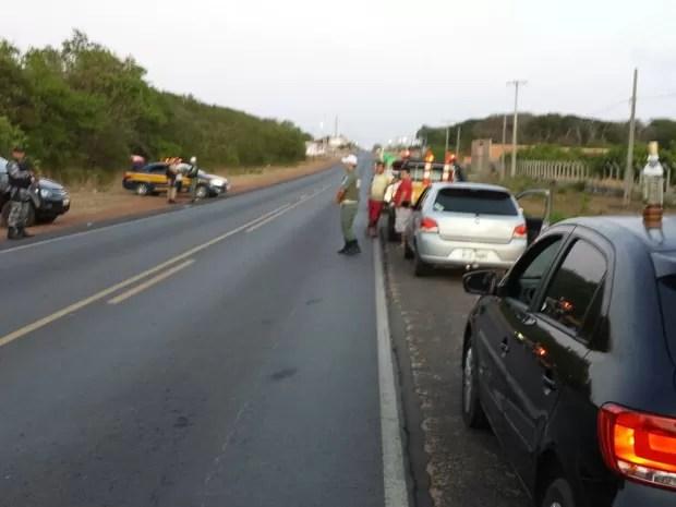 Operação da PRF e PM flagra seis condutores dirigindo embriagados