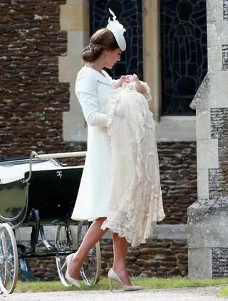 Batizado da Princesa Charlotte (Foto: Getty Images)