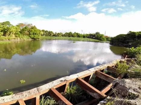 Ainda vai demorar pelo menos um ano e meio para que a primeira parte do projeto de Navegabilidade do Rio Capibaribe comece a funcionar, segundo a Secretaria das Cidades (Foto: Reprodução / TV Globo)
