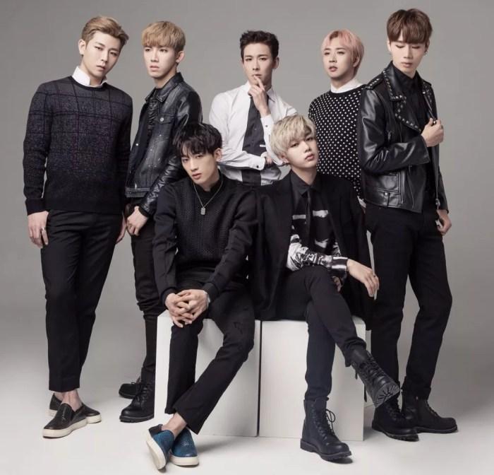 A boy band sul-coreana BLANC7 (Foto: Divulgação/Anime Friends)