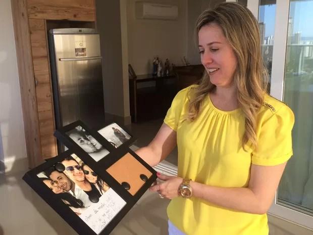 Mãe da namorada de Cristiano Araújo se apoia na fé para lidar com saudade
