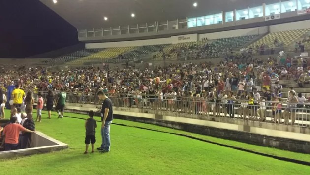 futebol solidário, joão pessoa, estádio almeidão (Foto: Edgley Lemos / GloboEsporte.com/pb)