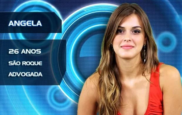 Angela (Foto: BBB/TVGlobo)