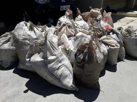 Droga apreendida em Orocó (Foto: Divulgação / Polícia Militar)
