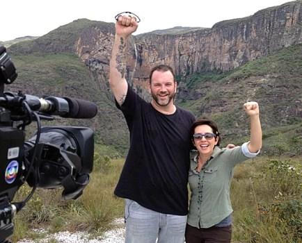 Jimmy e Nadia desbravam cidade de São Miguel dos Milagres (Foto: Arquivo Pessoal)