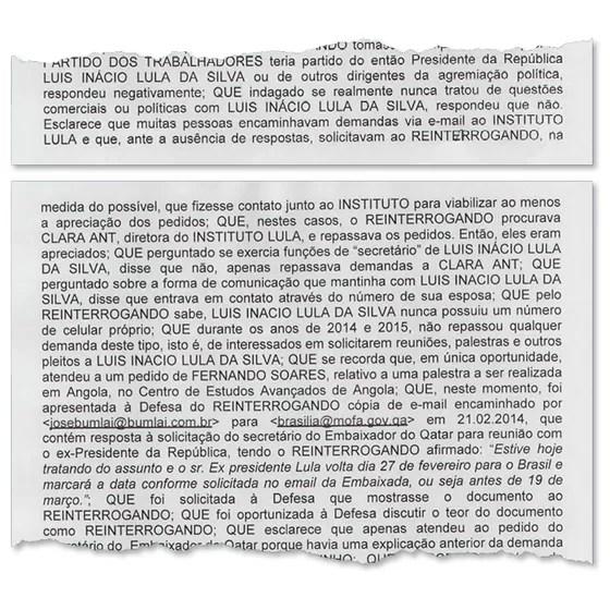 Bumlai admite que levava demandas para Lula (Foto: Reprodução/Época)
