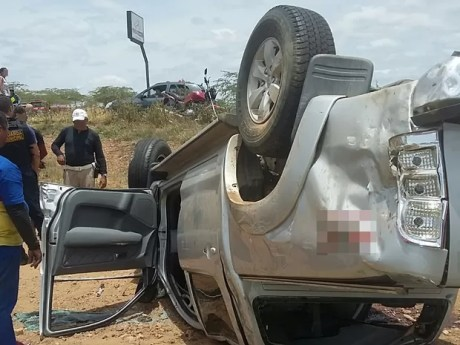 Condutor do veículo não corre o risco de morrer (Foto: Jobson Nunes/ Divulgação)