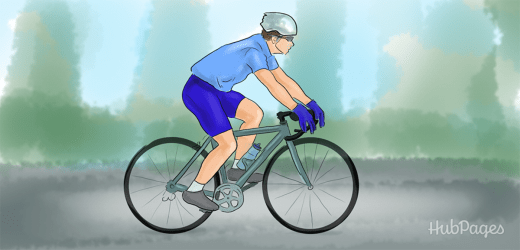 Bicycling is great exercise! And can add inches to your height.