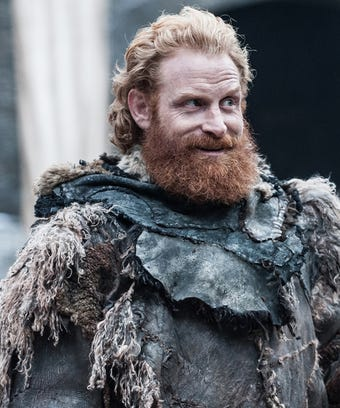 this photo of game of thrones tormund without his beard will make you gasp