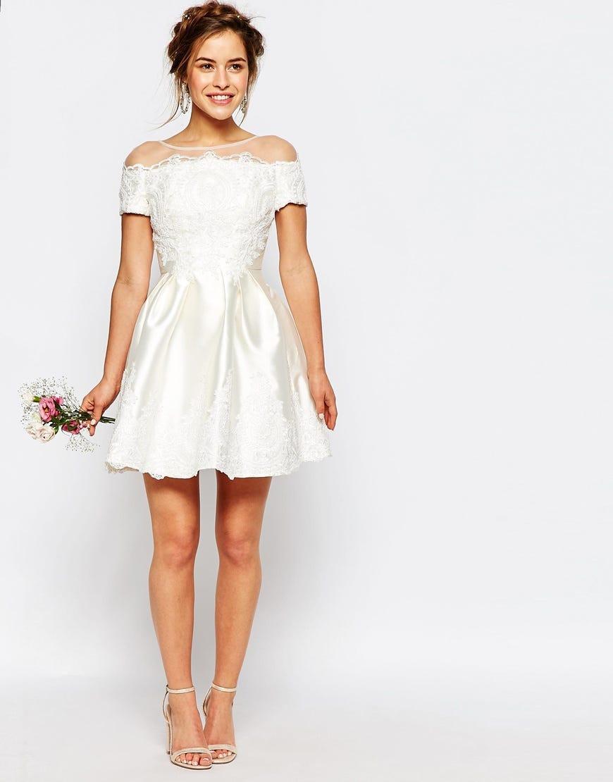 asos new bridal collection wedding dresses plunge wedding dress