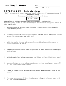 Collection of Boyles And Charles Law Worksheet - Joursferiesfr