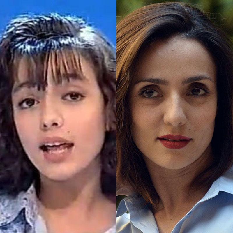 Il look di Ambra Angiolini: ispirazioni make-up e capelli per ragazze more e mediterranee!