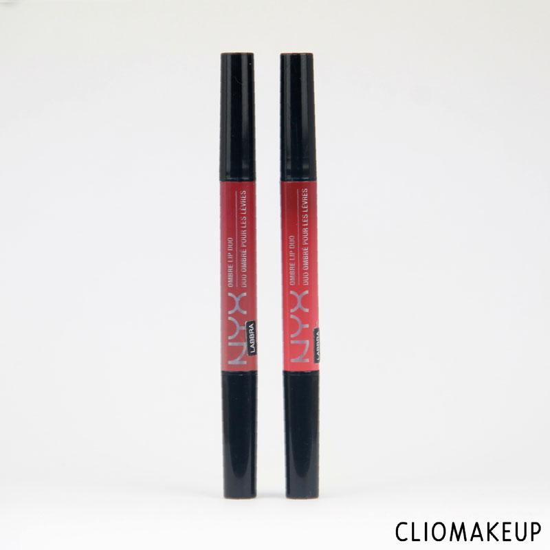 Mini Recensione Rossetti Ombre Lip Duo Nyx