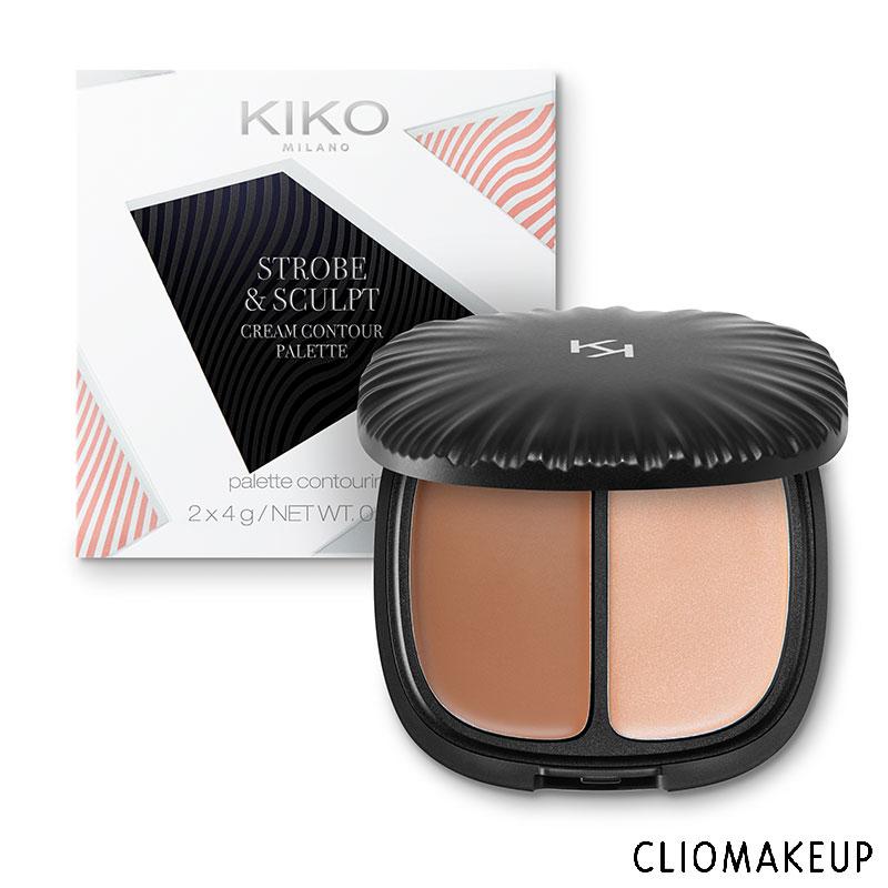 Mini Recensione Strobe and Sculpt Cream Contour Palette Kiko