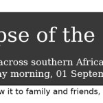 African Solar Eclipse of 2016
