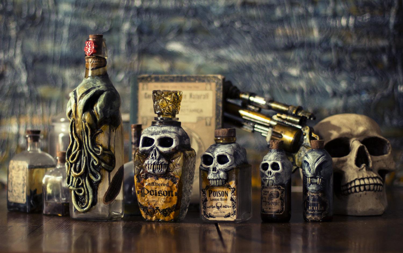 Cthulhu bottles 2