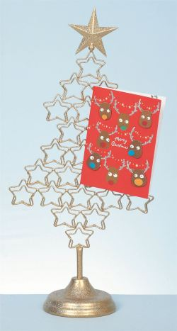 Small Of Christmas Card Holder