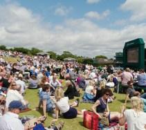 Henman Hill Wimbledon 2013